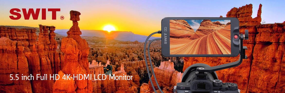 5.5 inch Full HD 4K-HDMI LCD Monitor